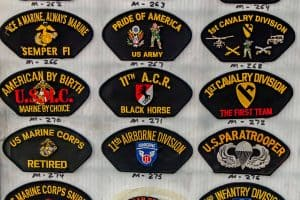 Lydias Patch Sewing Military Badges